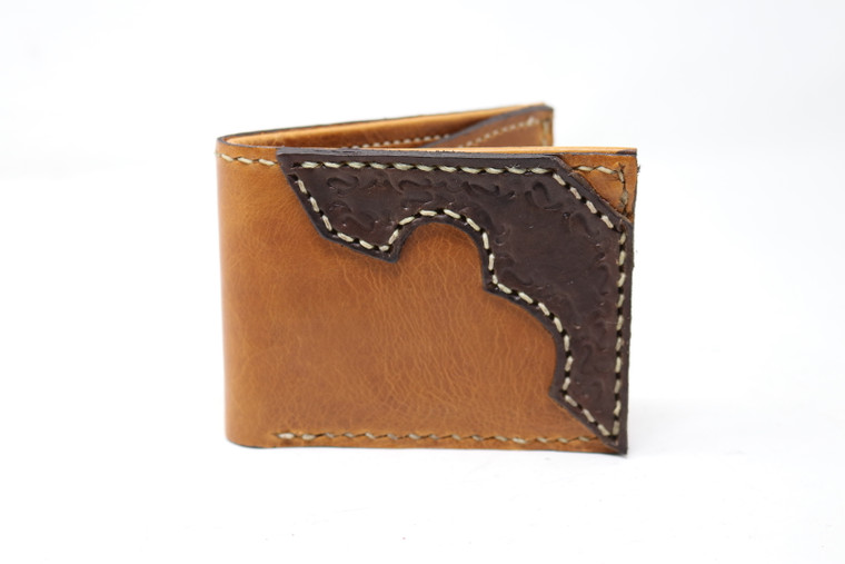 Medium Folding Leather Wallet -Multiple Colors