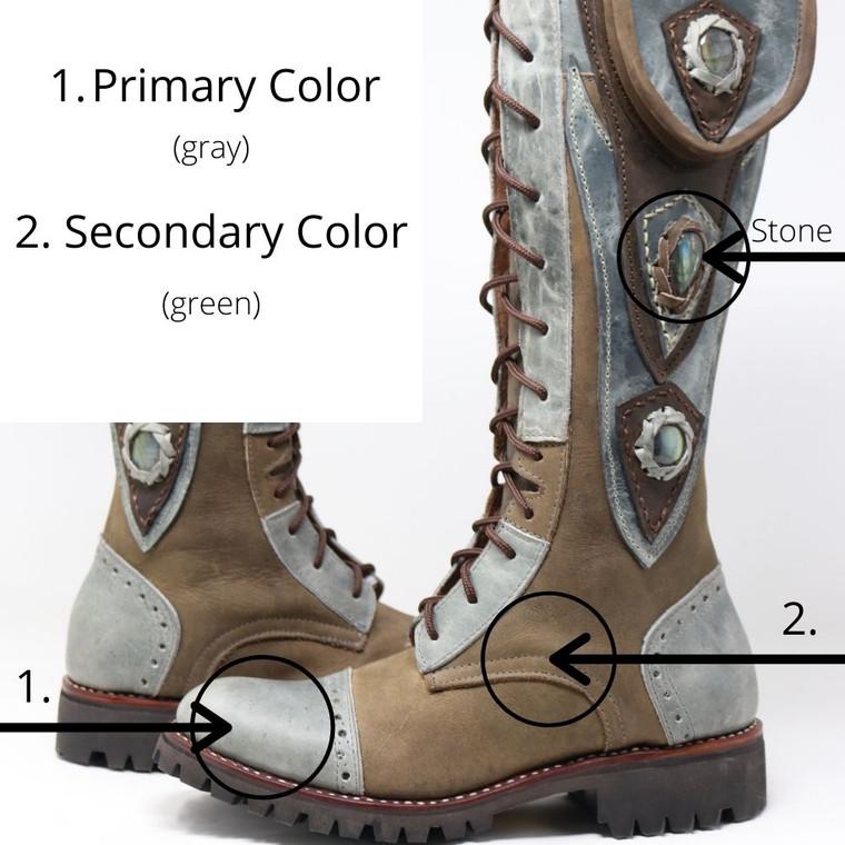 Custom Tall Gunslinger Boots