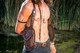 El Viajero Holster Vest - Holster Bag Lifestyle view with models