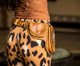 Bolivar Leather Utility Belt Bag lifestyle shot close up.