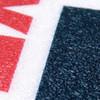MAINTAIN DISTANCE 6FT 2M APART - Red Anti Slip Floor Sign