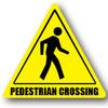 Durastripe Warning Sign - PEDESTRIAN CROSSING