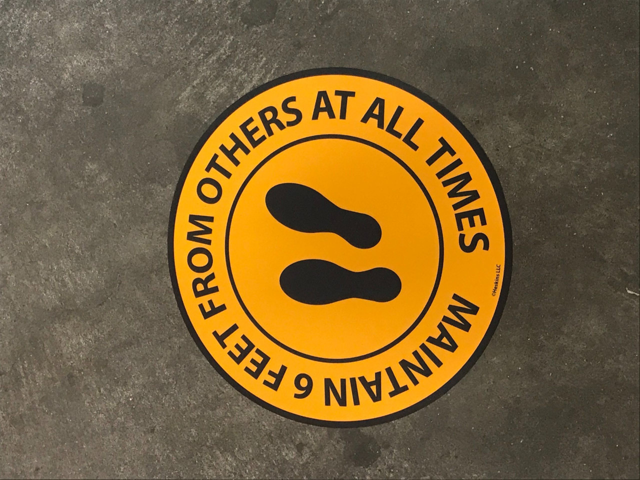 """FM14 Floor/Wall Sign 