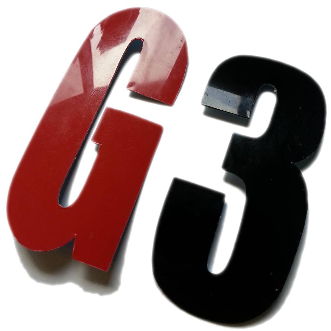 Durastripe X-Treme Die Cut Floor Marking Letters & Numbers