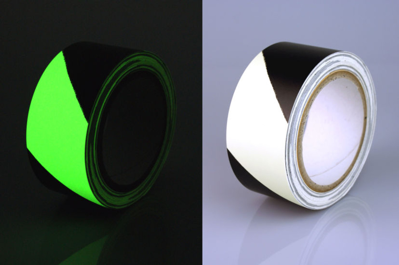 Photoluminescent Glow in the Dark Egress Marking Tape