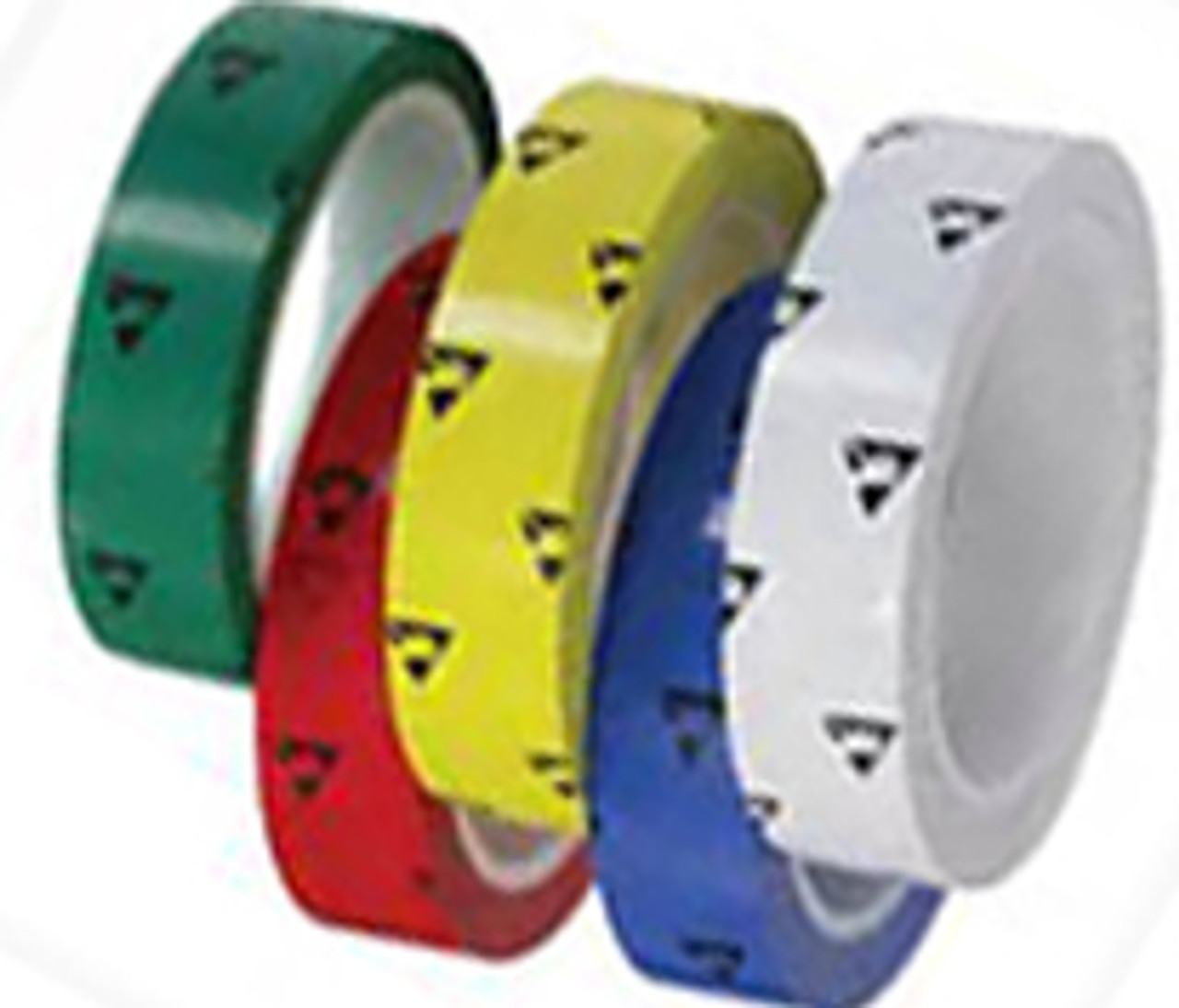 2265 – Anti-Static Cleanroom Tape   Printed ESD Symbol   0.5-4″ Wide X 5 Mils Thick X 108′ Long