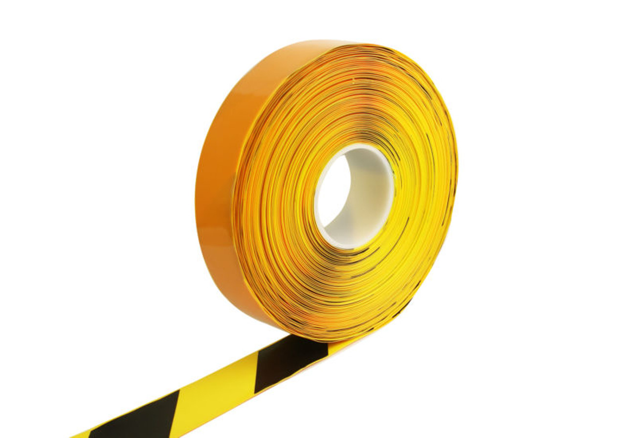 PermaStripe Smooth Floor Marking Tape 39mil Thick - 98 ft Length