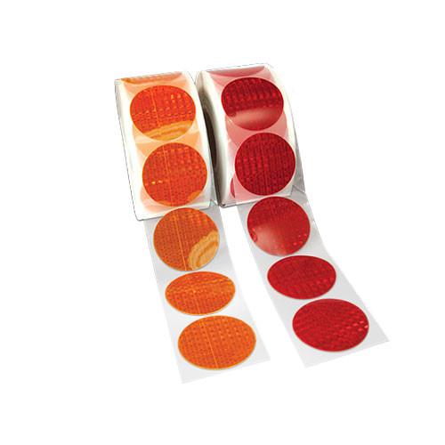 High Visibility Reflective Sticker Circles DOT-SAE