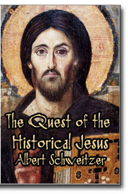 "Albert Schweitzer's ""The Quest of the Historical Jesus"" is a landmark study of the man named Jesus."