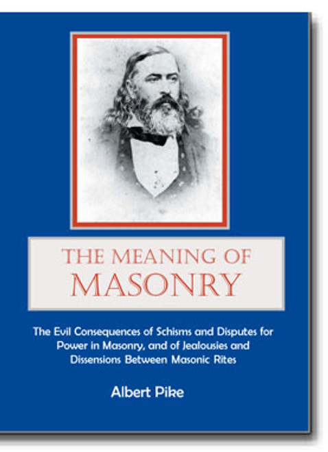 "The lecture was subtitled, ""The Evil Consequences of Schisms and Disputes for Power in Masonry, and of Jealousies and Dissensions Between Masonic Rites"" and is a fascinating look at Pike's interpretation of the ""Masonic wars"" of the mid 1800's in Louisiana."