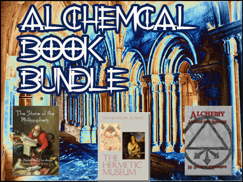 The Stone of the Philosophers: An Alchemical Handbook Edited by Michael R. Poll, The Hermetic Museum by A.E. Waite, and Alchemy: Ancient and Modern by H. Stanley Redgrove