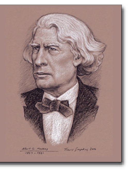 Albert G. Mackey, 1807-1881. Author, Doctor, Freemason – 2016 by Travis Simpkins