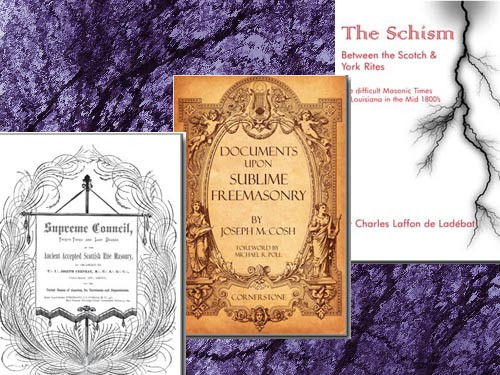 """The beauty of the Scottish Rite has a history in the U.S. of battles for the right to be the one """"true"""" system. These books provide a foundation in the so-called """"Cerneau wars."""" Important for all students of the Scottish Rite."""