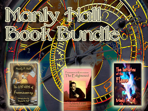 Manly Hall Book Bundle