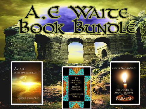 A. E. Waite Book Bundle
