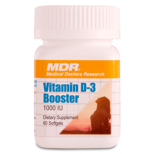 Vitamin D Booster, 60 Softgels