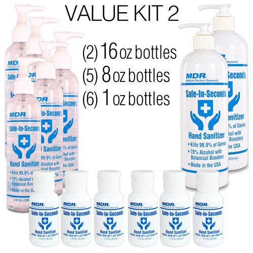 Safe-In-Seconds Value Kit 2