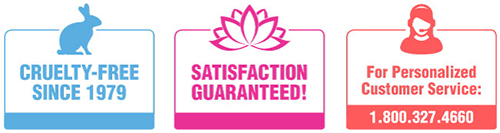 Cruelty Free, Satisfaction Guaranteed, Call for Personal Service