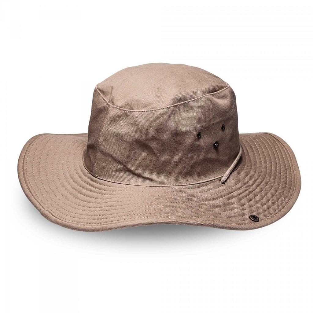 Khaki Kiddies Wide Brim Safari Hat