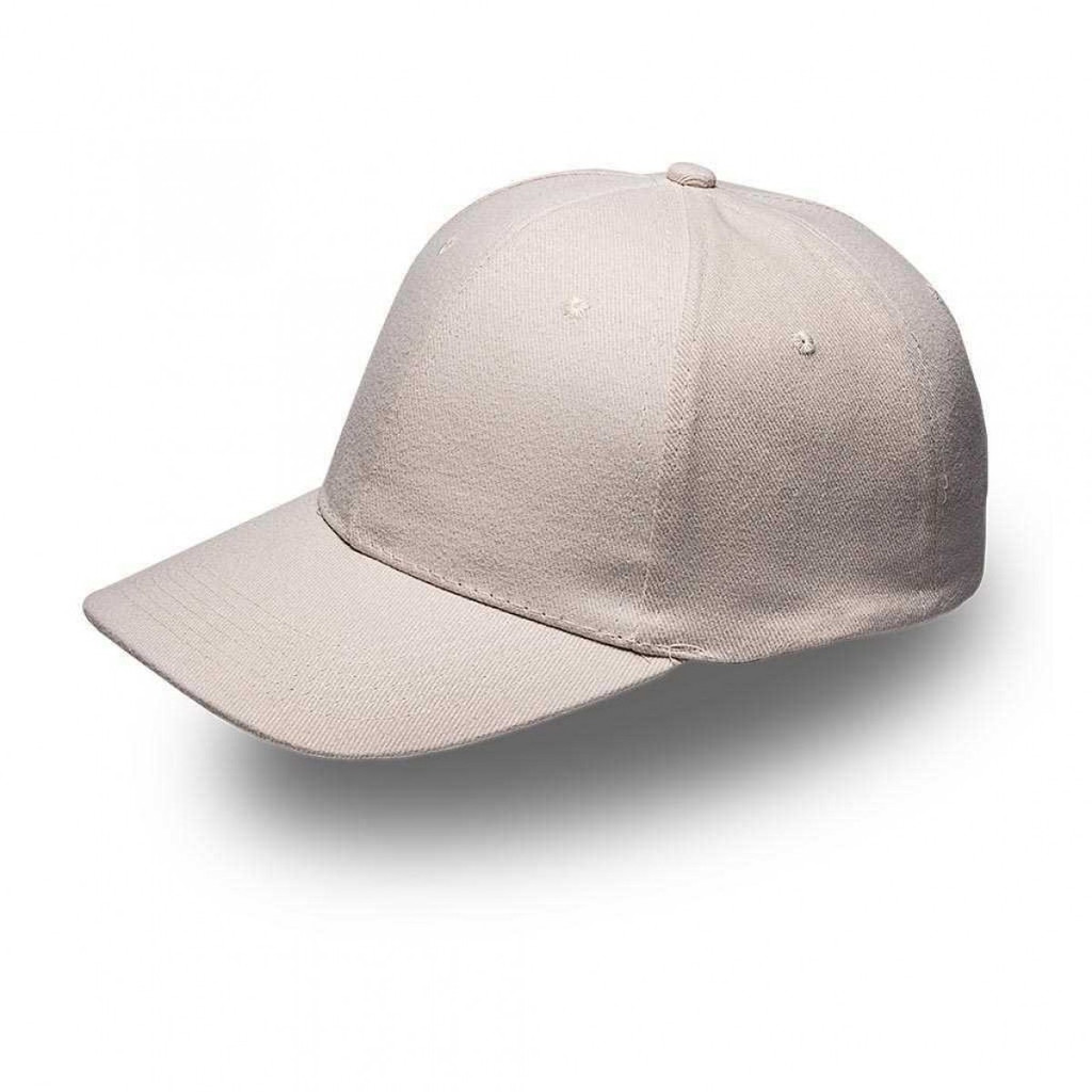 Stone 6 Panel Brushed Cotton Cap