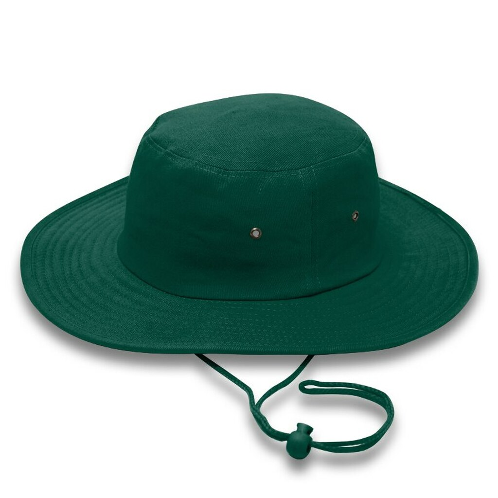 Bottle Green Cricket Hat