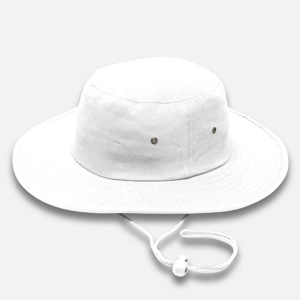 White Cricket Hat