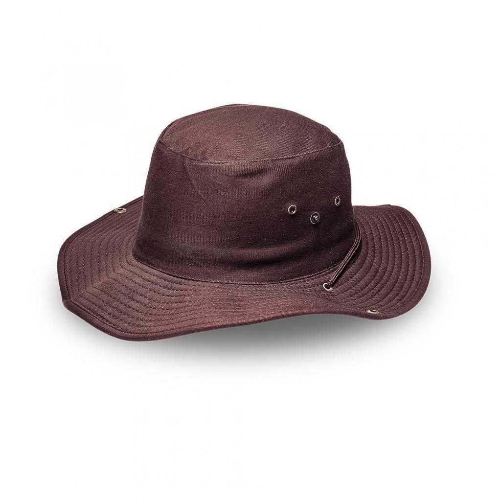 Chocolate Safari Wide Brim Hat