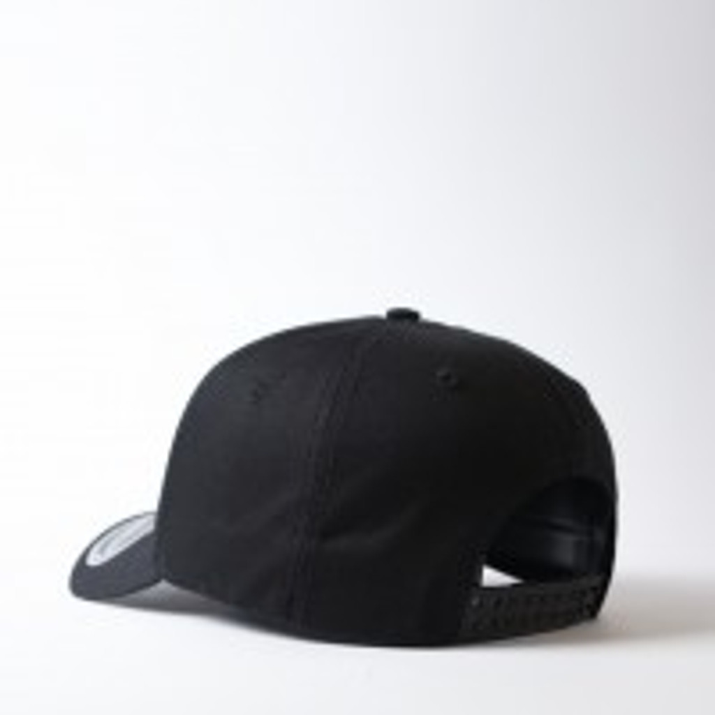 Uflex 5 Panel Curved Peak Snapback  Cap I Black- OUT OF STOCK!!