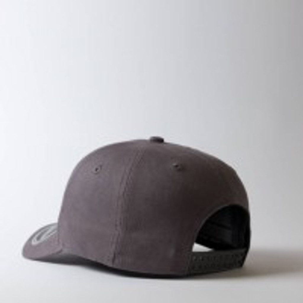 Uflex 5 Panel Curved Peak Snapback  Cap I Urban Grey