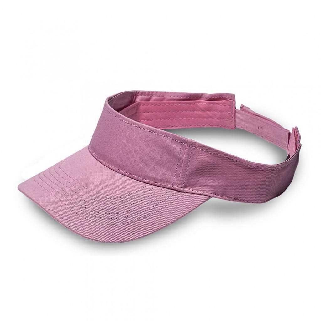 Pink Twill Visor