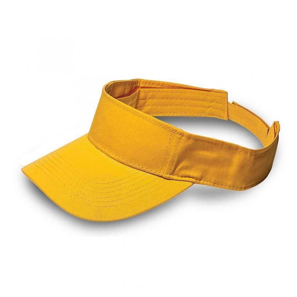 Yellow Twill Visor
