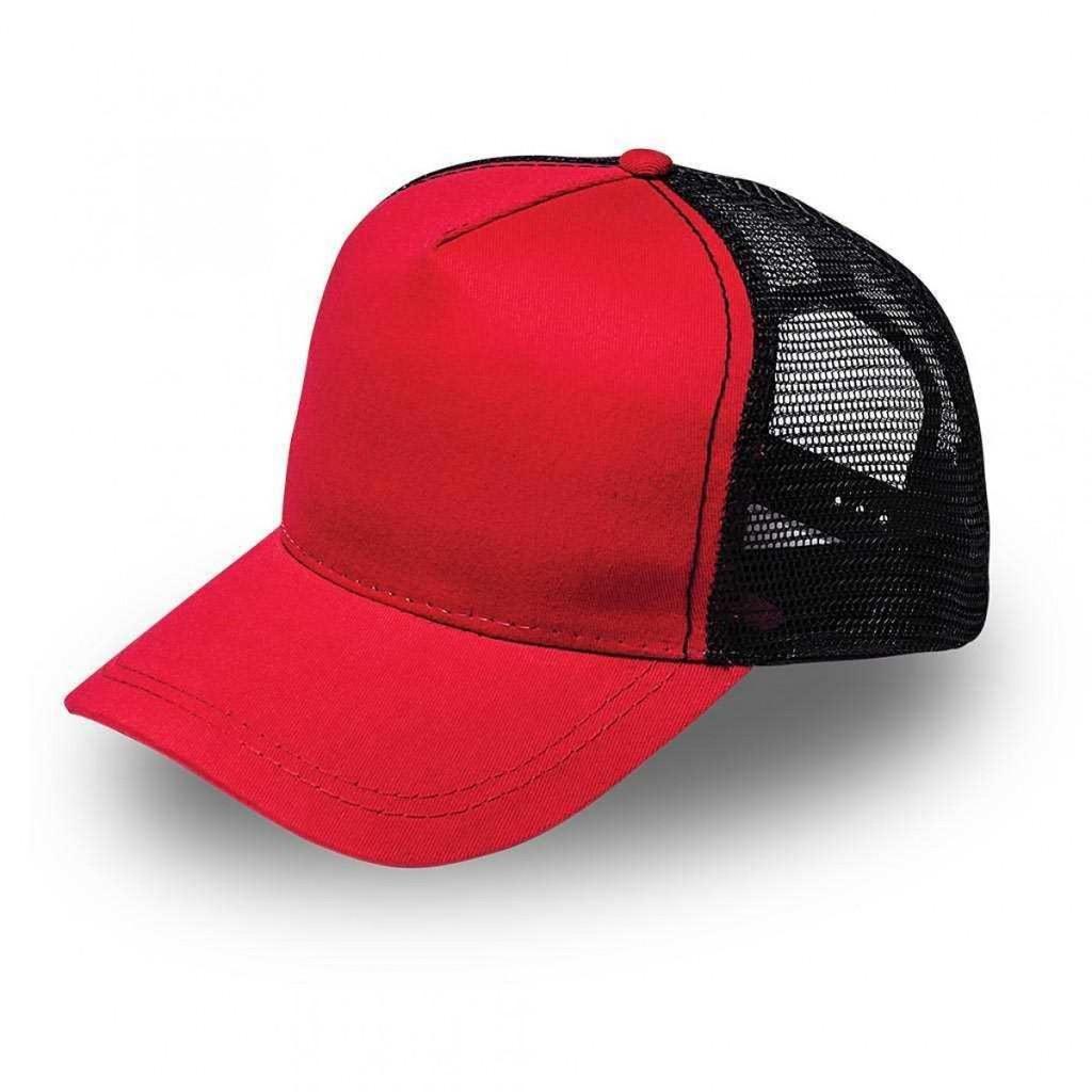 Red/Black MAC Trucker Cap