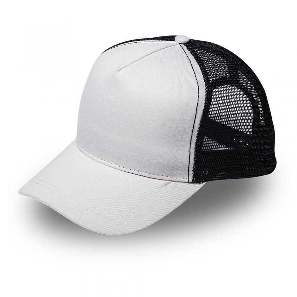 White/Black MAC Trucker Cap