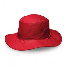 Red Kiddies Wide Brim Safari Hat