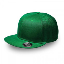 Emerald Green Original Snapback Flat Peak Cap