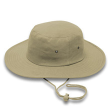 Khaki Cricket Hat