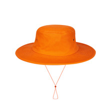 Orange Cricket Hat