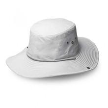 White Safari Wide Brim Hat
