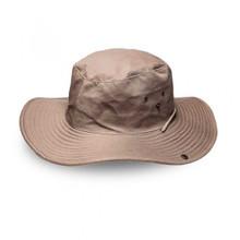 Khaki Safari Wide Brim Hat