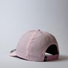 UFlex High Tech Curved Peak Cap | Pink | Back View