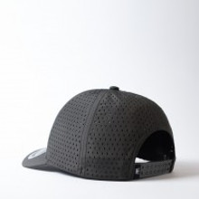 Uflex High Tech Curved Peak Cap I Charcoal- OUT OF STOCK!!