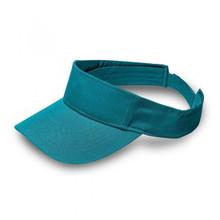Turquoise Twill Visor