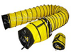 Yellow Ducting with Bag - 25'