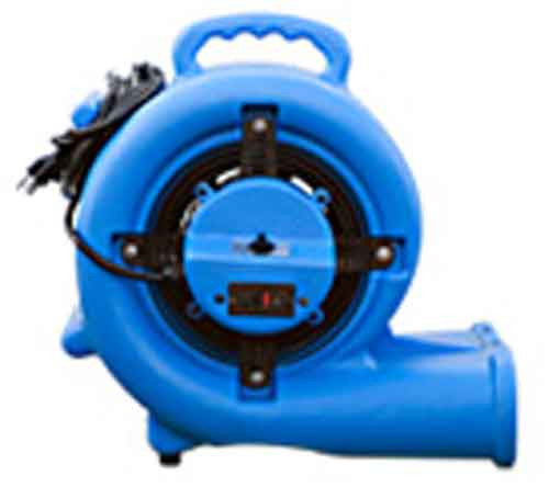 omni dry air mover 2.9 amp side view