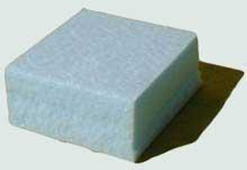 Blue block Styrofoam