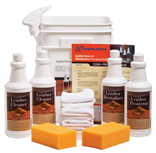 CL03H leather cleaning kit