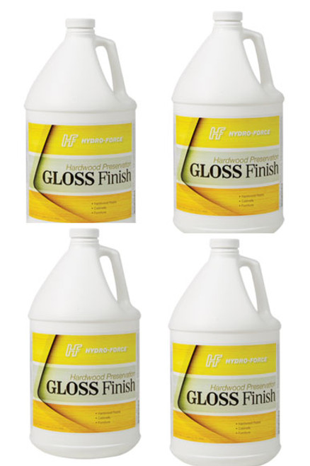 wood gloss finish sold in 4 gallons