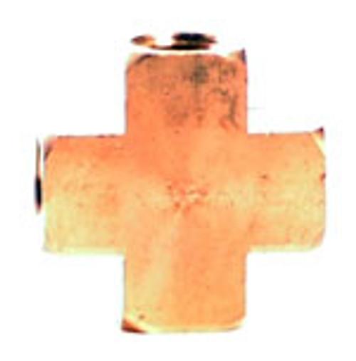 Cross 1/4 Fpt Brass