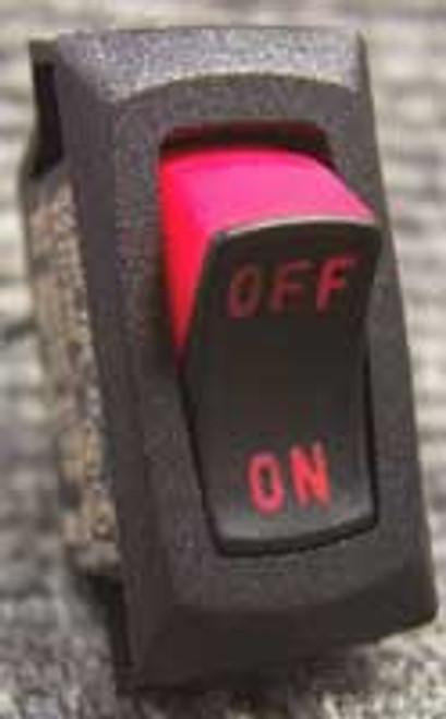 Dri-eaz Rocker Mini Switch Spst - Non-lighted