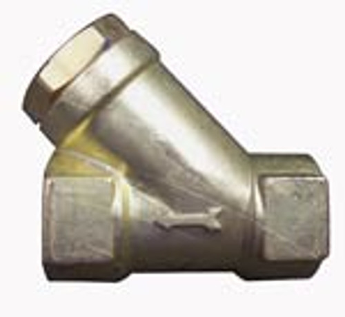 Brass Y-strainer 1/2 Fpt